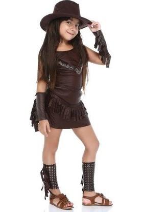 Tülü Akkoç Kovboy Kız Kostümü