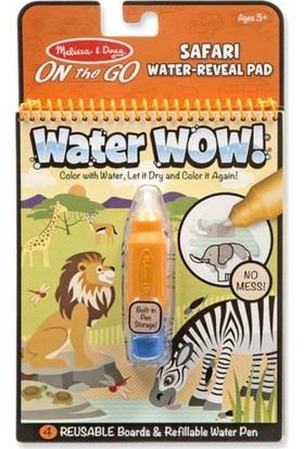Melissa&Doug Water Wow! Su İle Boyama Kitabı - Safari