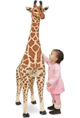 Melissa&Doug Dev Peluş Zürafa 140 cm