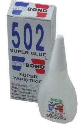 Evobond Mxbon 502 Super Glue Süper Yapıştırıcı Madein England