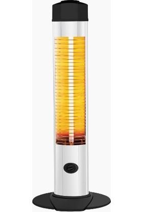 Rotev 2000 Watt Devrilme Emniyetli Ayaklı Kule Tipi Isıtıcı