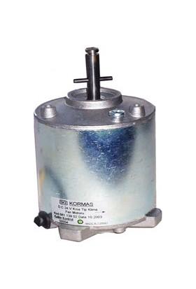 Kormaş Klima Fan Motoru, Kisa, Sütrak Tip, 12V
