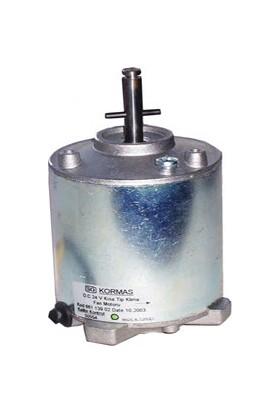 Kormaş Klima Fan Motoru, Kisa, Sütrak Tip, 24V