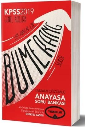 Yediiklim Yayınları 2019 Gk Bumerang Tamamı Çözümlü Anayasa Soru Bankası