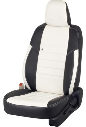Otom Hyundaı I30 Sw 2010 California Design Araca Özel Deri Koltuk Kılıfı Kırık Beyaz-109