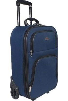 Tüyran 2 Tekerlekli Kabin Boy Körüklü Bavul