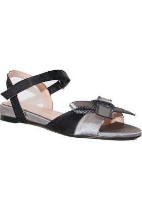 Efem 18-69 Saten Sandalet