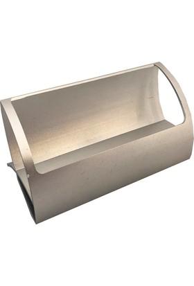 Standmarket Kartvizitlik Tekli Metal Gümüş
