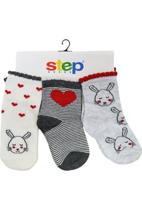 Step 1920 3'Lü Bebek Çorabı