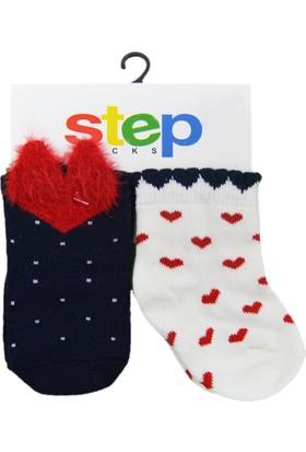 Step 1961 2'Li Bebek Çorabı