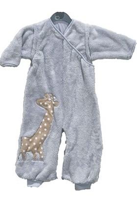 Uygun Bebe Sevimli Zürafa Bebek Polar Uyku Tulumu