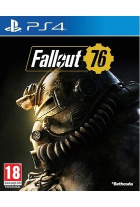 Bethesda Fallout 76 PS4 Oyun