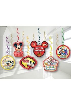 Partici Mickey Mouse Tavan Süs Seti