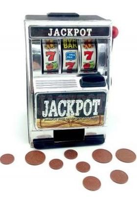Pi İthalat Jackpot Bank - Slot Makinesi Şeklinde Kumbara