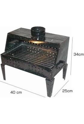 Pi İthalat Mangal - Barbekü Set Bacalı