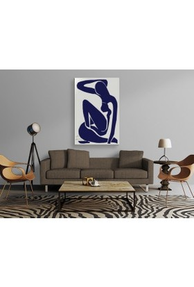 Tablo Kanvas Henri Matisse - Nu Bleu I - 1952 Tablo