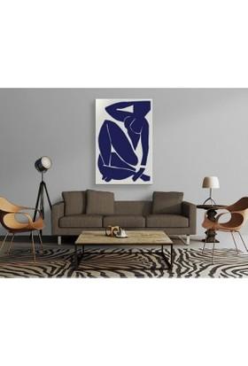 Tablo Kanvas Henri Matisse - Nu Bleu III - 1952 Tablo