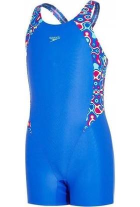 Speedo Printed Legsuit / Kız Çocuk Mayo