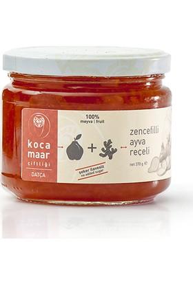 Kocamaar Şeker İlavesiz Zencefilli Ayva Reçeli 370 gr.