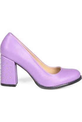 Rovigo Plus Kadın Mor Ayakkabı