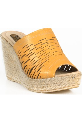 Rovigo Plus Kadın Hardal Ayakkabı