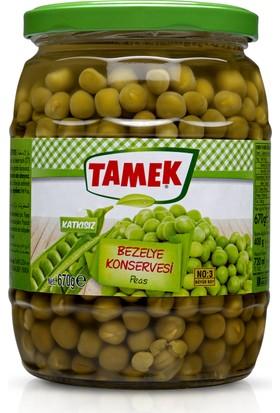 Tamek Bezelye Konserve 720 Cc ( 670 Gr )