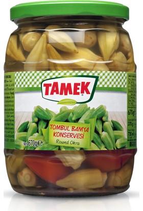 Tamek Tombul Bamya Konservesi 670 Gr