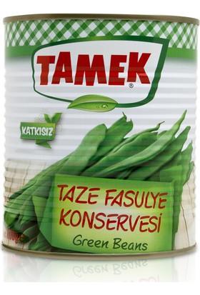 Tamek Taze Fasulye Konservesi 830 Gr