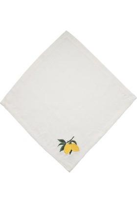 Capri Beyaz Limon Peçete