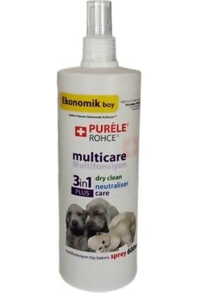 Purele 3In1 Multifonksiyon Care Kedi Köpek Tüy Bakımı Spreyi 600 Ml