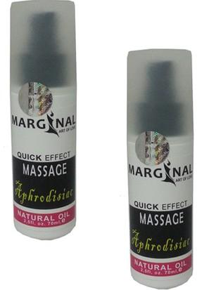 Marginal 70 Ml Natural Vücut Masaj Yağı 2 Adet