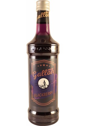 Gallon Böğürtlen (Blackberry) Aromalı Kokteyl Şurup 70 cl