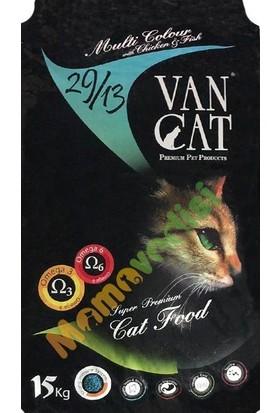 VanCat Multi Color Renkli Yetişkin Kedi Maması 15 KG