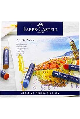 Faber-Castell Goldfaber Yağlı Pastel 24 Renk