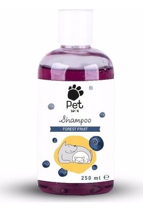 Pet Love Eco Kedi & Köpek Şampuanı Forest Fruit 250 Ml