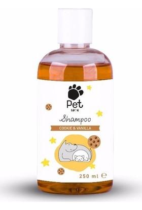 Pet Love Eco Kedi & Köpek Şampuanı Cookie & Vanilla 250 Ml
