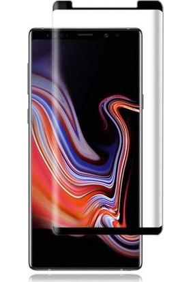 Case 4U Samsung Galaxy Note 9 3D Kavisli Cam Ekran Koruyucu Siyah