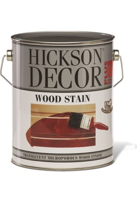 Hickson Dekor Plus Wood Stain Rosewood 1 Lt Ahşap Boyası Sovent Bazlı