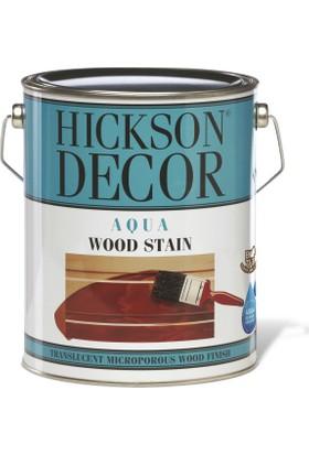 Hickson Dekor Aqua Stain Tanatone Brown 2,5 Lt Ahşap Boyası Su Bazlı