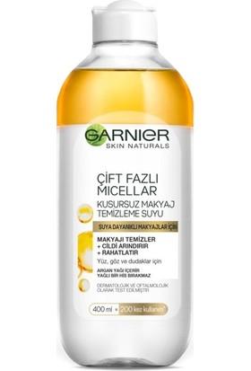 Garnier Çift Fazlı Micellar Kusursuz Makyaj Temizleme Suyu 400ML
