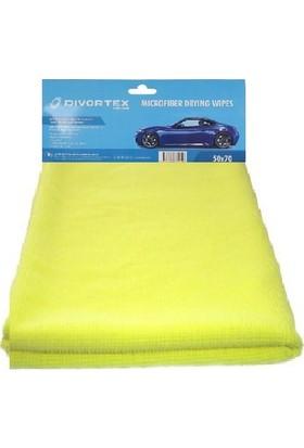 Divortex Sarı Renk Mikrofiber Temizlik ve Kuruluma Bezi 1 Adet