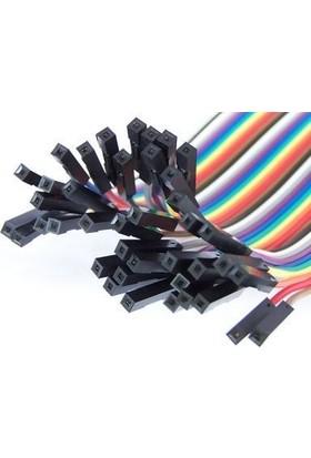 Keskinler 40pin 20cm Dişi-Dişi Jumper Kablo