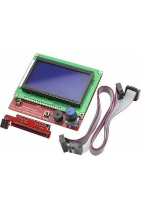 Keskinler RepRap Ramps 1.4 Uyumlu 128x64 Grafik GLCD Ekran Kiti - Full Graphic Smart