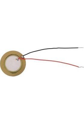 Keskinler Piezo Disk - Kablolu - 15 mm Çap