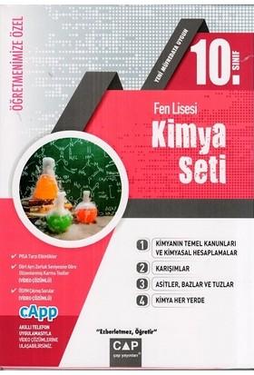 Çap Yayınları 10. Sınıf Fen Lisesi Kimya Seti