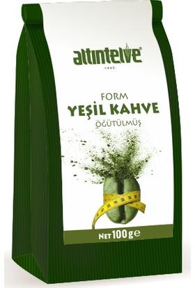 Altıntelve Form Yeşil Kahve 100 gr