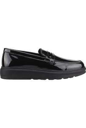 Carrano 102 Siyah Günlük Erkek Çocuk Rugan Klasik Ayakkabı