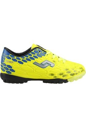 Jump 20908-B Neon Sarı Halısaha Futbol Erkek Çocuk Spor Ayakkabı