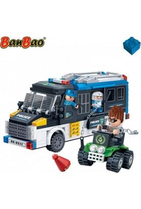 Banbao 325 Parça Polis Seti Lego Oyun Seti