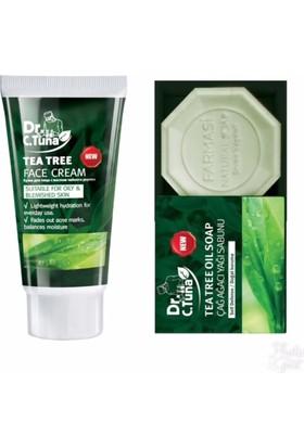 Farmasi Çay Ağacı Yüz Kremi + Sabun